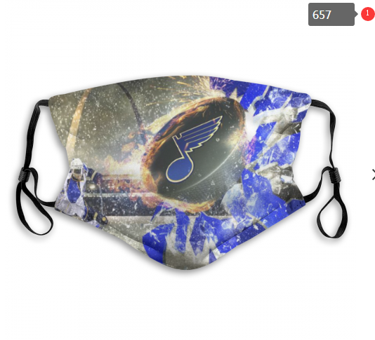 NHL St.Louis Blues 9 Dust mask with filter