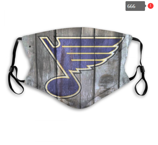 NHL St.Louis Blues Dust mask with filter