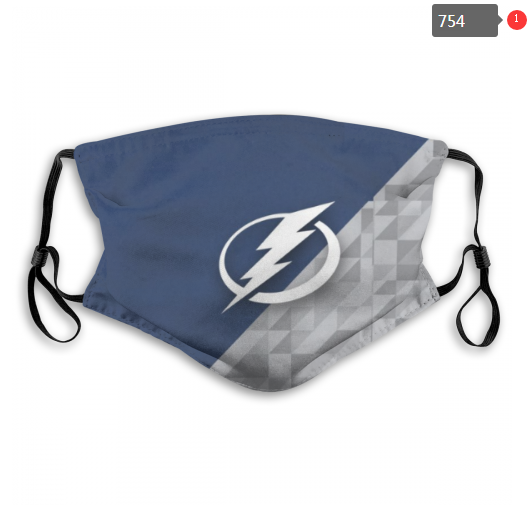 NHL Tampa Bay Lightning 12 Dust mask with filter