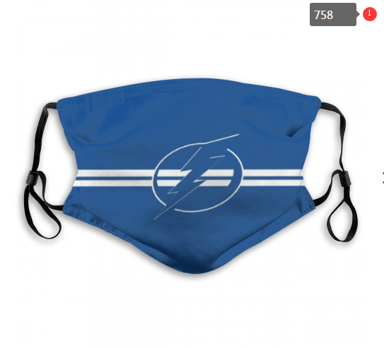 NHL Tampa Bay Lightning 8 Dust mask with filter