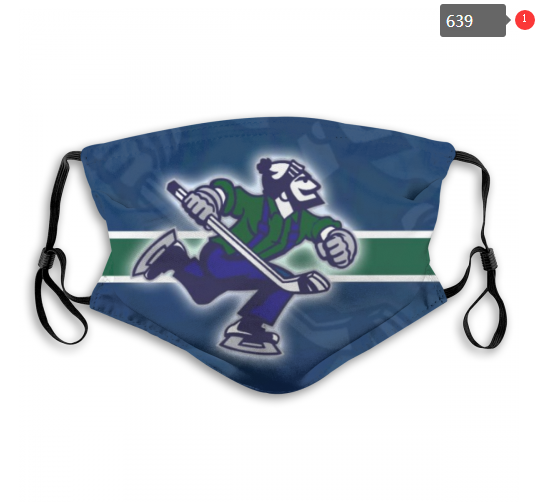 NHL Vancouver Canucks 1 Dust mask with filter
