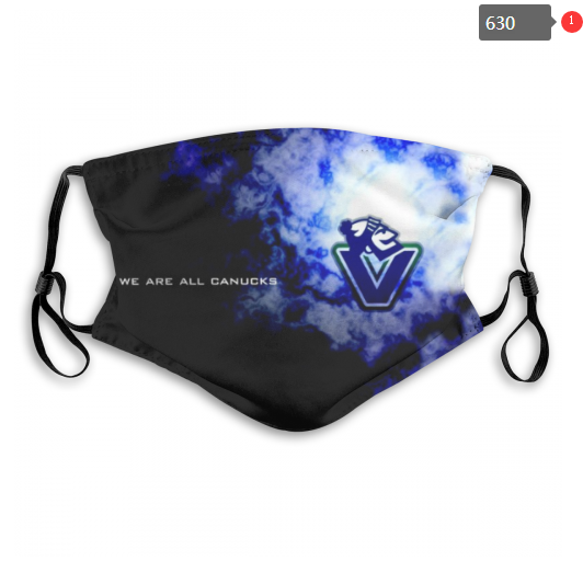 NHL Vancouver Canucks 10 Dust mask with filter