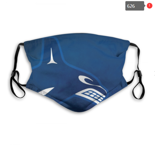 NHL Vancouver Canucks 14 Dust mask with filter