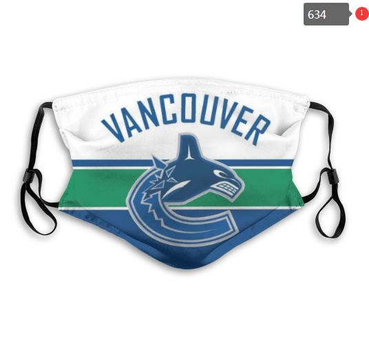 NHL Vancouver Canucks 6 Dust mask with filter