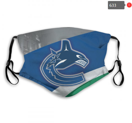 NHL Vancouver Canucks 7 Dust mask with filter