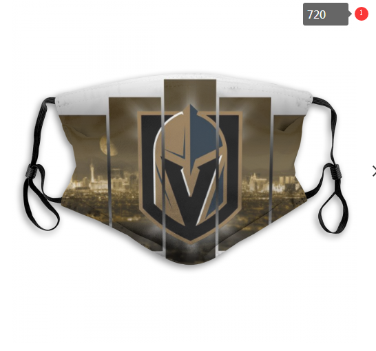 NHL Vegas Golden Knights 1 Dust mask with filter