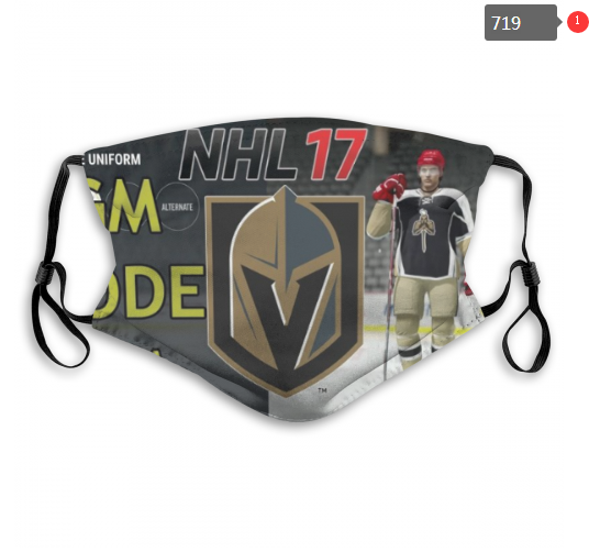 NHL Vegas Golden Knights 2 Dust mask with filter