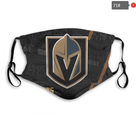 NHL Vegas Golden Knights 3 Dust mask with filter
