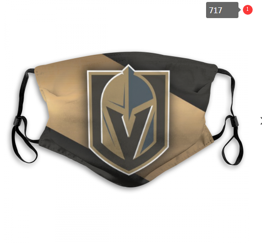 NHL Vegas Golden Knights 4 Dust mask with filter