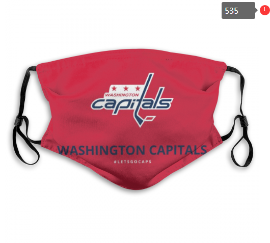 NHL Washington Capitals 1 Dust mask with filter