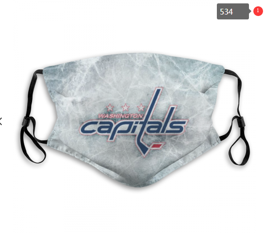 NHL Washington Capitals 2 Dust mask with filter