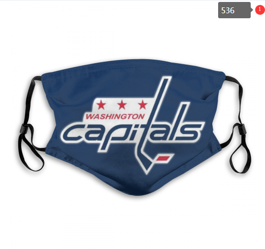 NHL Washington Capitals Dust mask with filter