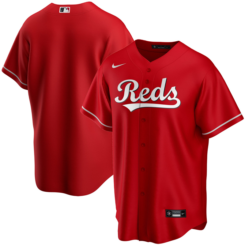 2020 MLB Youth Cincinnati Reds Nike Red Alternate 2020 Replica Team Jersey 1