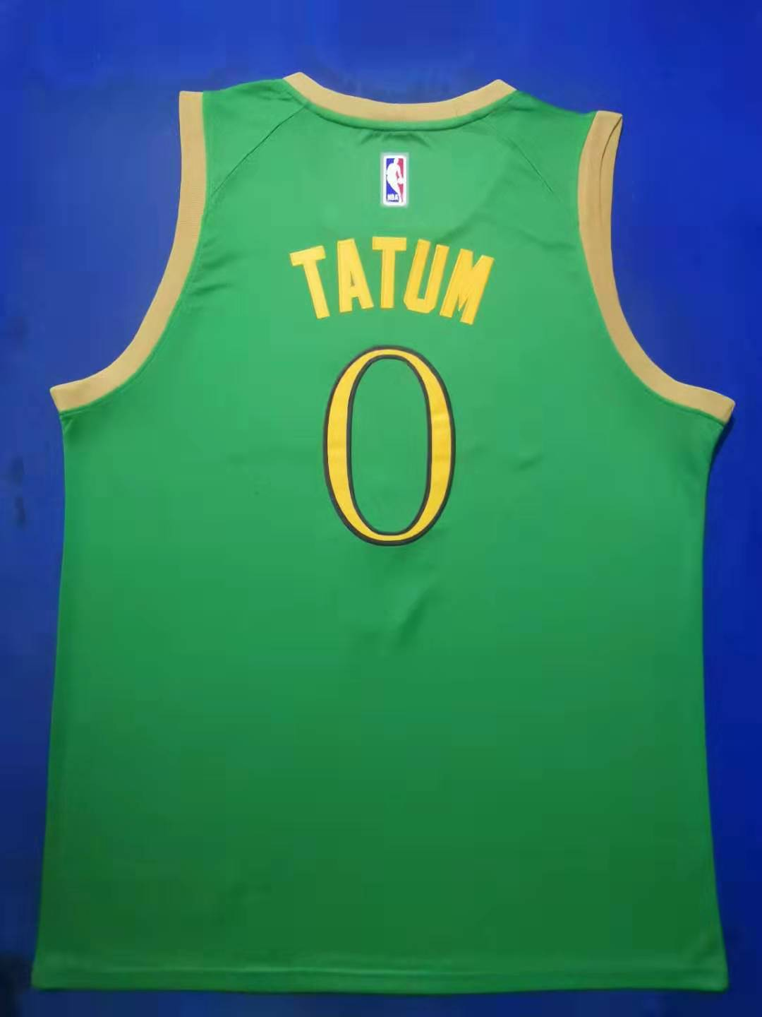 2020 Men Boston Celtics 0 Tatum Green City Edition Game Nike NBA Jerseys new style