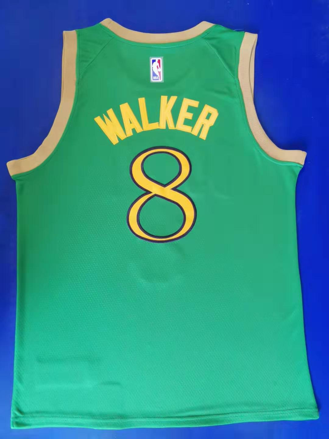 2020 Men Boston Celtics 8 Walker Green City Edition limited Nike NBA Jerseys