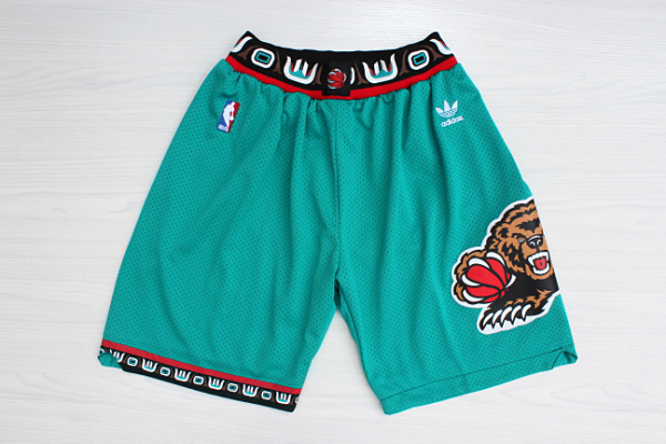 2020 Men Memphis Grizzlies green NBA shorts