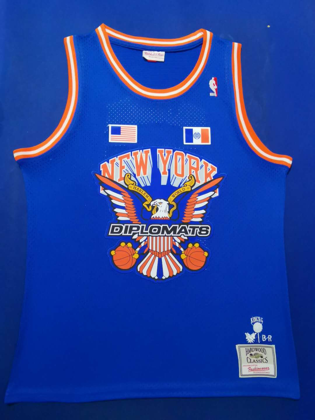 2020 Men New York Knicks 97 Harlem Blue limited Nike NBA Jerseys