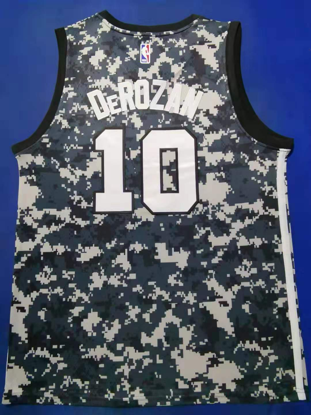 2020 Men San Antonio Spurs 10 Derozan camo City Edition limited Nike NBA Jerseys