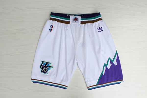 2020 Men Utah Jazz white NBA shorts