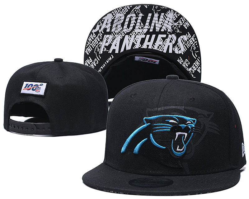 2020 NFL Carolina Panthers black hat