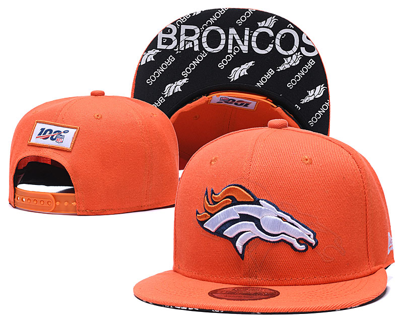 2020 NFL Denver Broncos hat 2