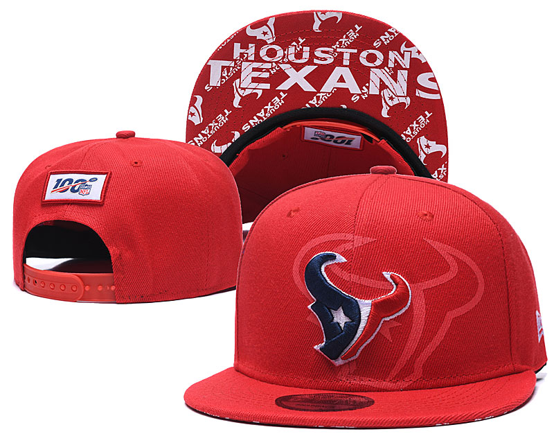 2020 NFL Houston Texans red hat