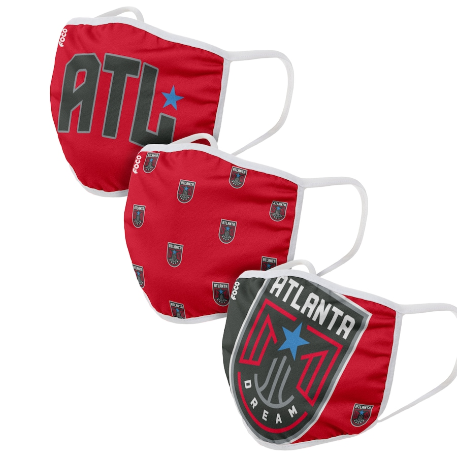 Adult Atlanta Dream 3Pack Dust mask with filter
