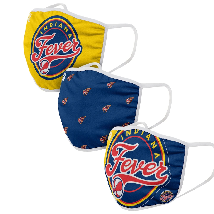 Adult Indiana Fever 3Pack Dust mask with filter