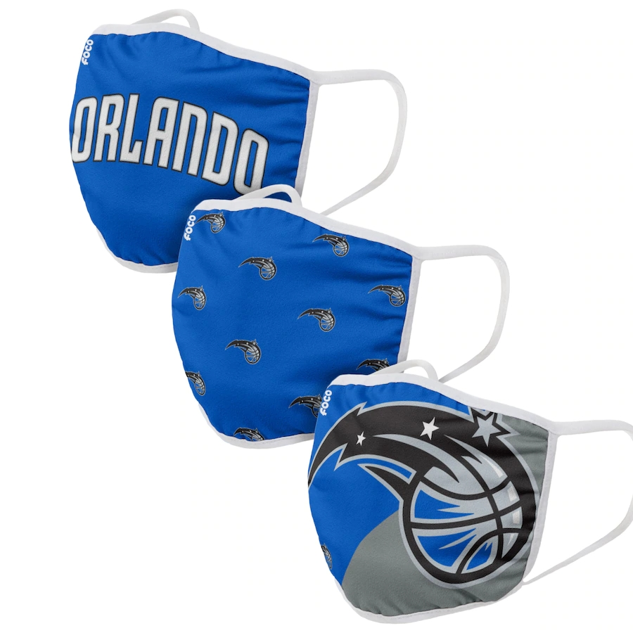 Adult Orlando Magic 3Pack Dust mask with filter