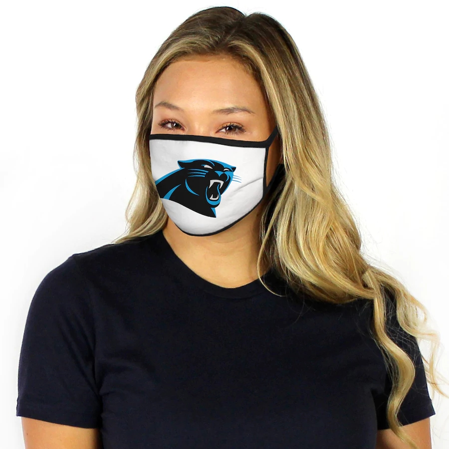 Fanatics Branded Carolina Panthers Dust mask with filter3