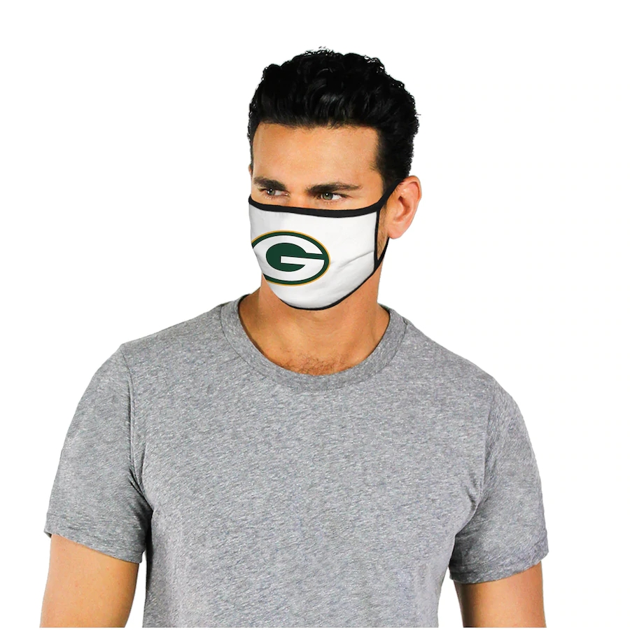 Fanatics Branded Green Bay Packers Dust mask with filter