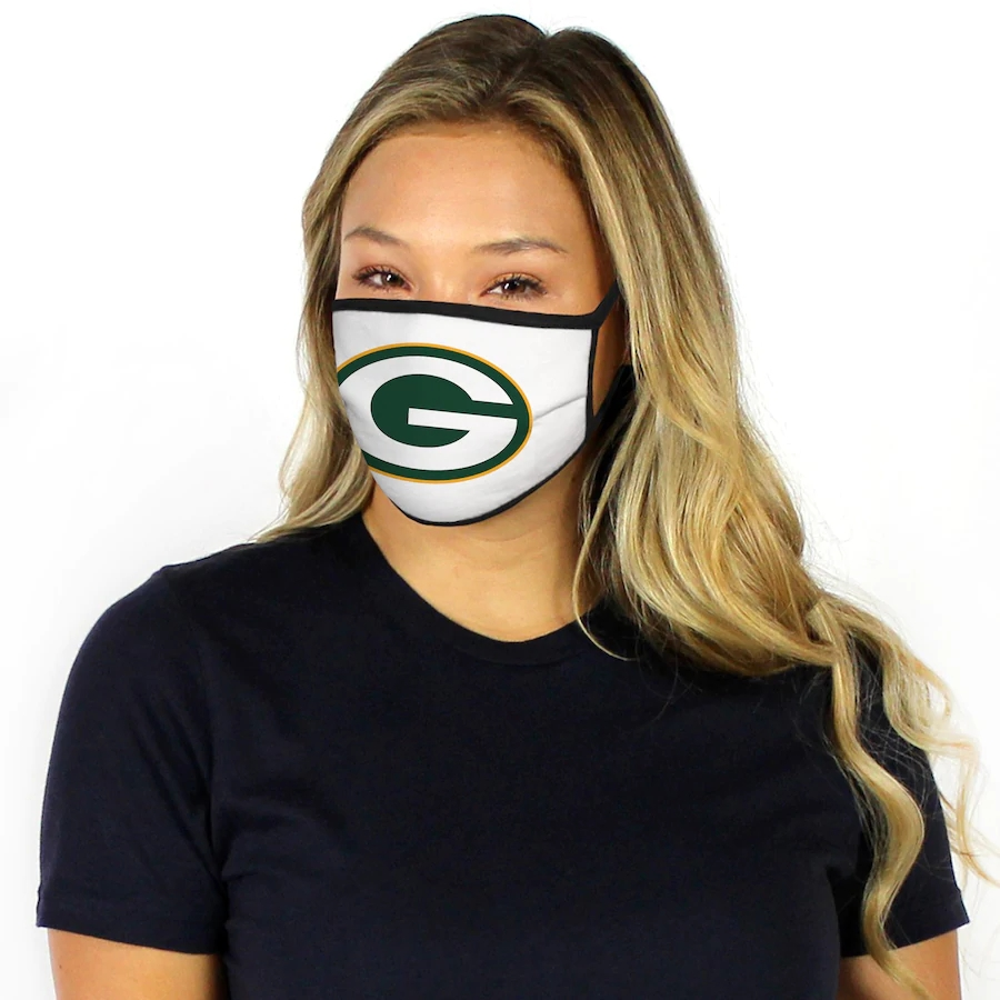 Fanatics Branded Green Bay Packers Dust mask with filter7