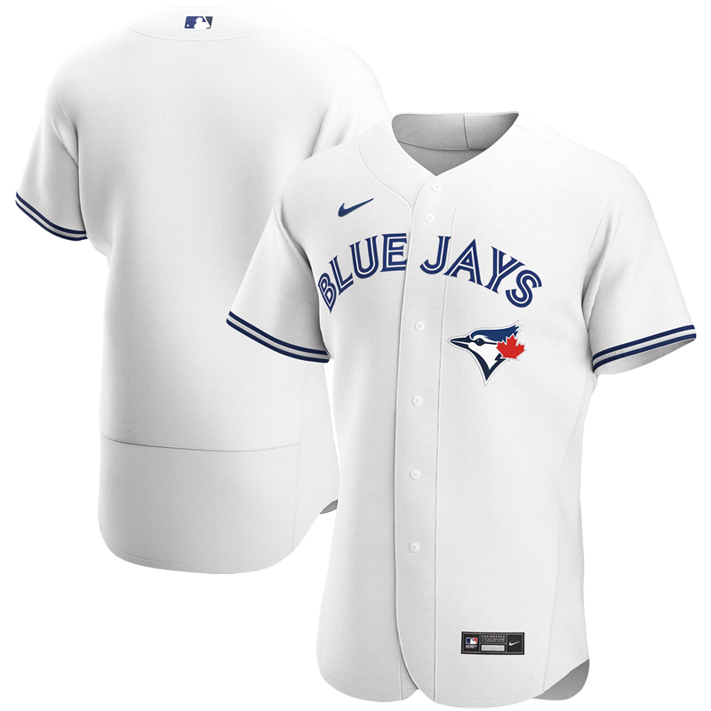 MLB Men Toronto Blue Jays Nike White Home 2020 Authentic Jersey