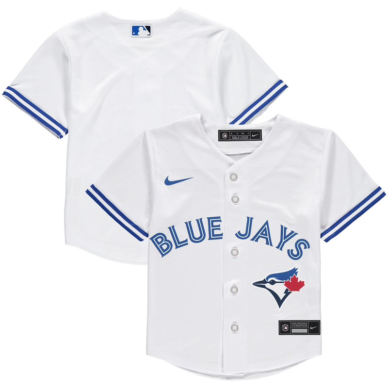 MLB Toddler Toronto Blue Jays Nike White Home 2020 Replica Team Jersey