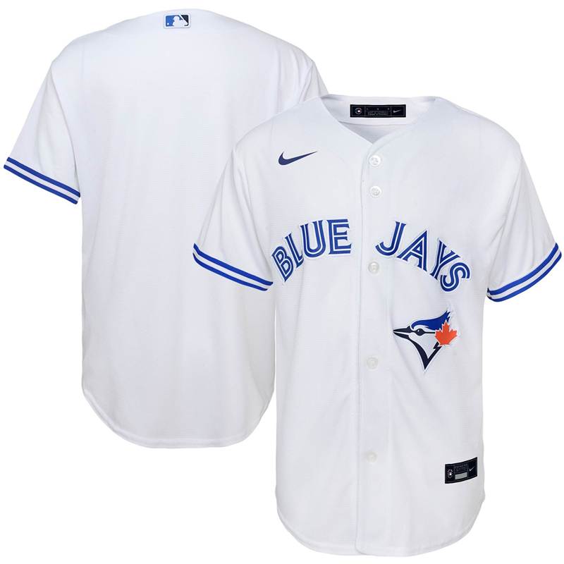 MLB Youth Toronto Blue Jays Nike White Home 2020 Replica Team Jersey