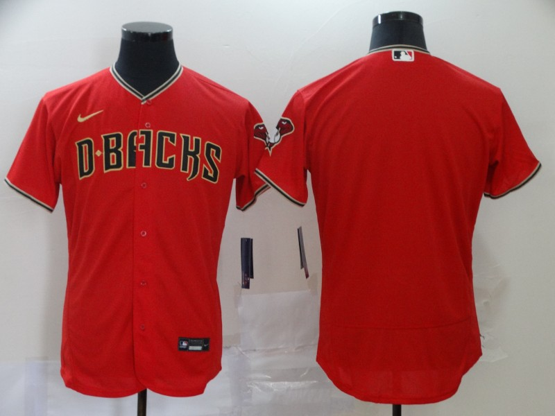 Men Arizona Diamondback blank red MLB Jerseys