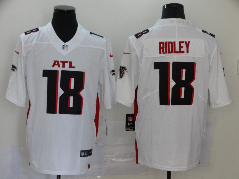 Men Atlanta Falcons 18 Ridley White Nike Vapor Untouchable Stitched Limited NFL Jerseys