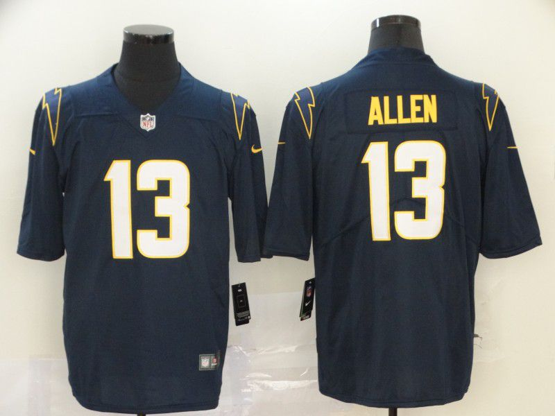 Men Los Angeles Chargers 13 Allen Dark Blue Nike Vapor Untouchable Stitched Limited NFL Jerseys