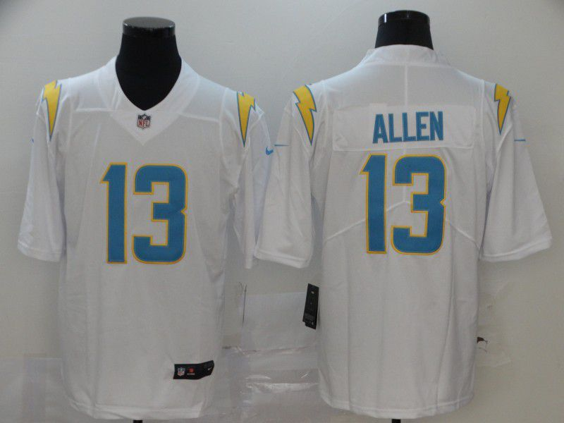 Men Los Angeles Chargers 13 Allen White Nike Vapor Untouchable Stitched Limited NFL Jerseys