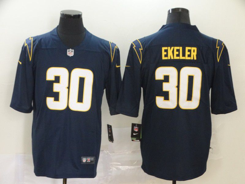 Men Los Angeles Chargers 30 Ekeler Dark Blue Nike Vapor Untouchable Stitched Limited NFL Jerseys