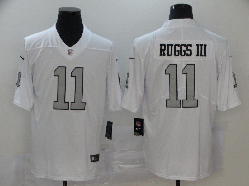 Men Oakland Raiders 11 Ruggs iii White Nike Vapor Untouchable Limited NFL Jerseys