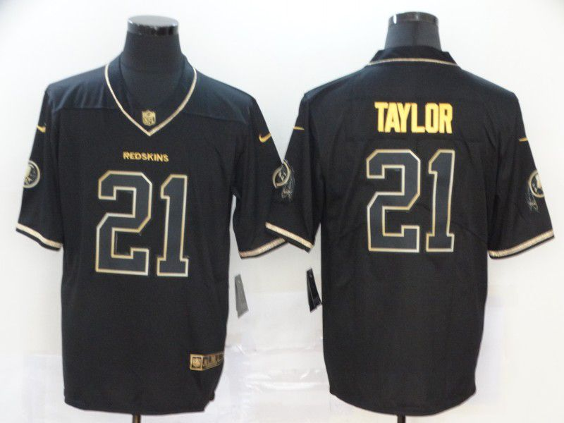 Men Washington Redskins 21 Taylor Black Nike Vapor Untouchable Stitched Limited NFL Jerseys