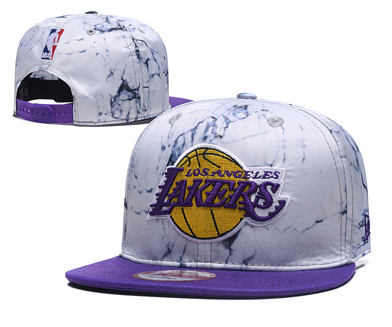 2020 MLB Los Angeles Lakers 01 hat