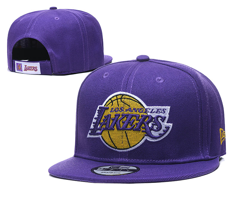 2020 MLB Los Angeles Lakers 04 hat