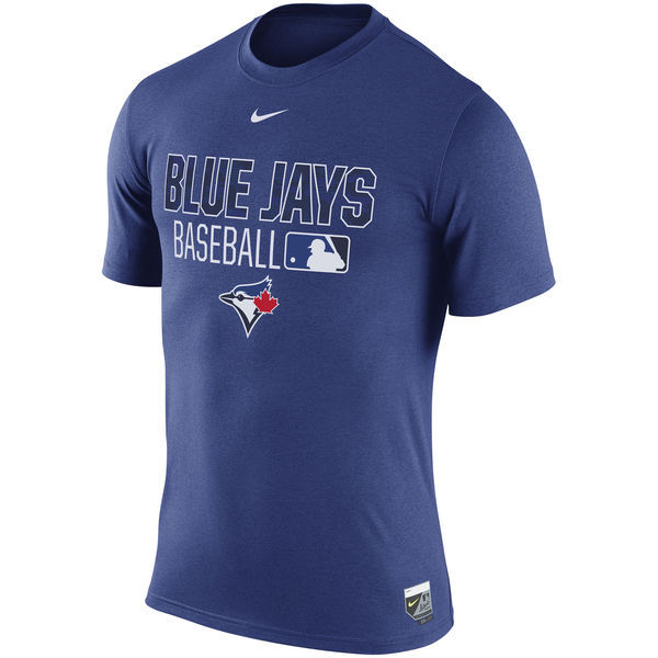 2020 MLB Men Toronto Blue Jays Black Banner Wave TShirt4