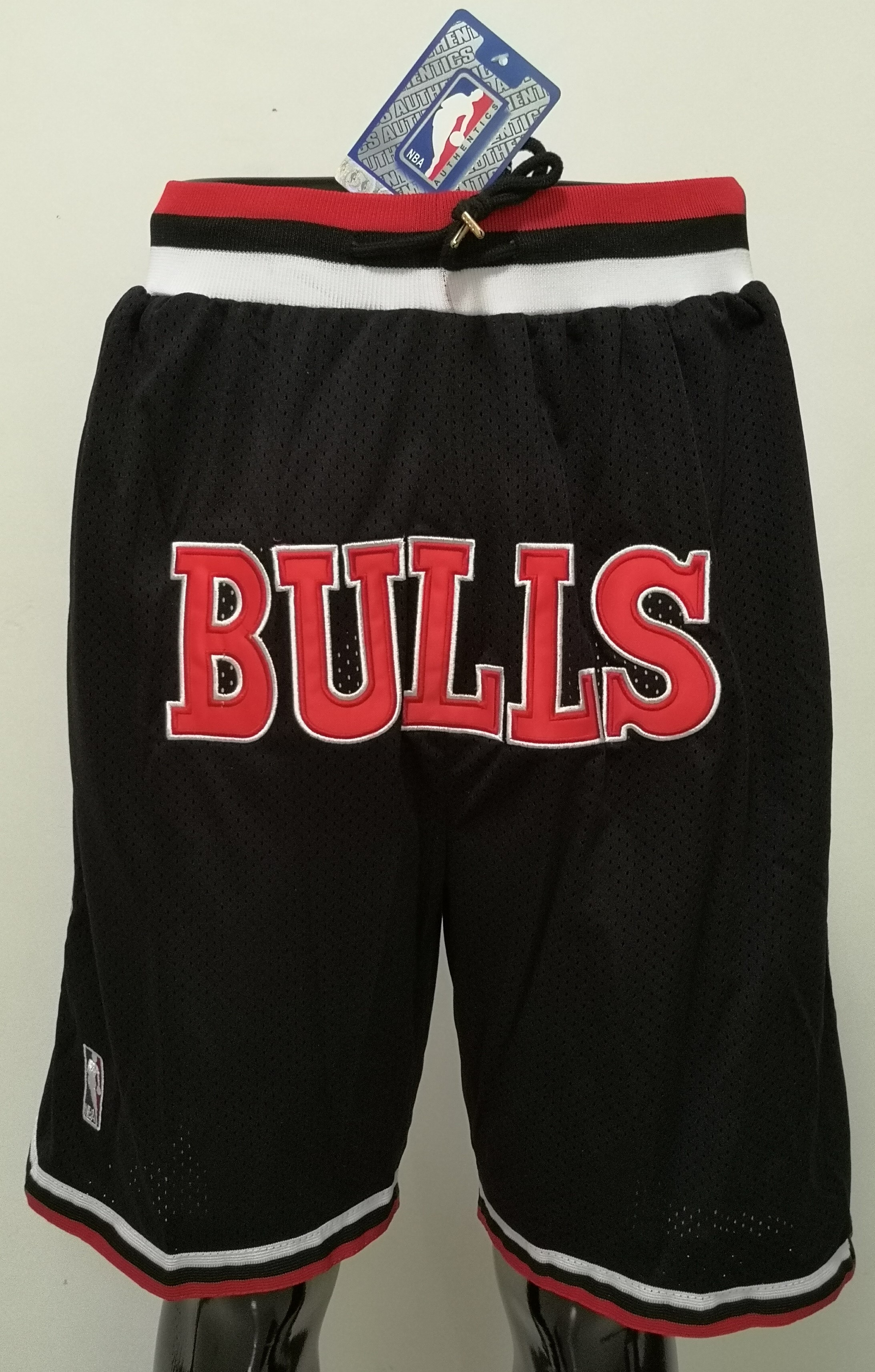 2020 Men NBA Chicago Bulls black shorts