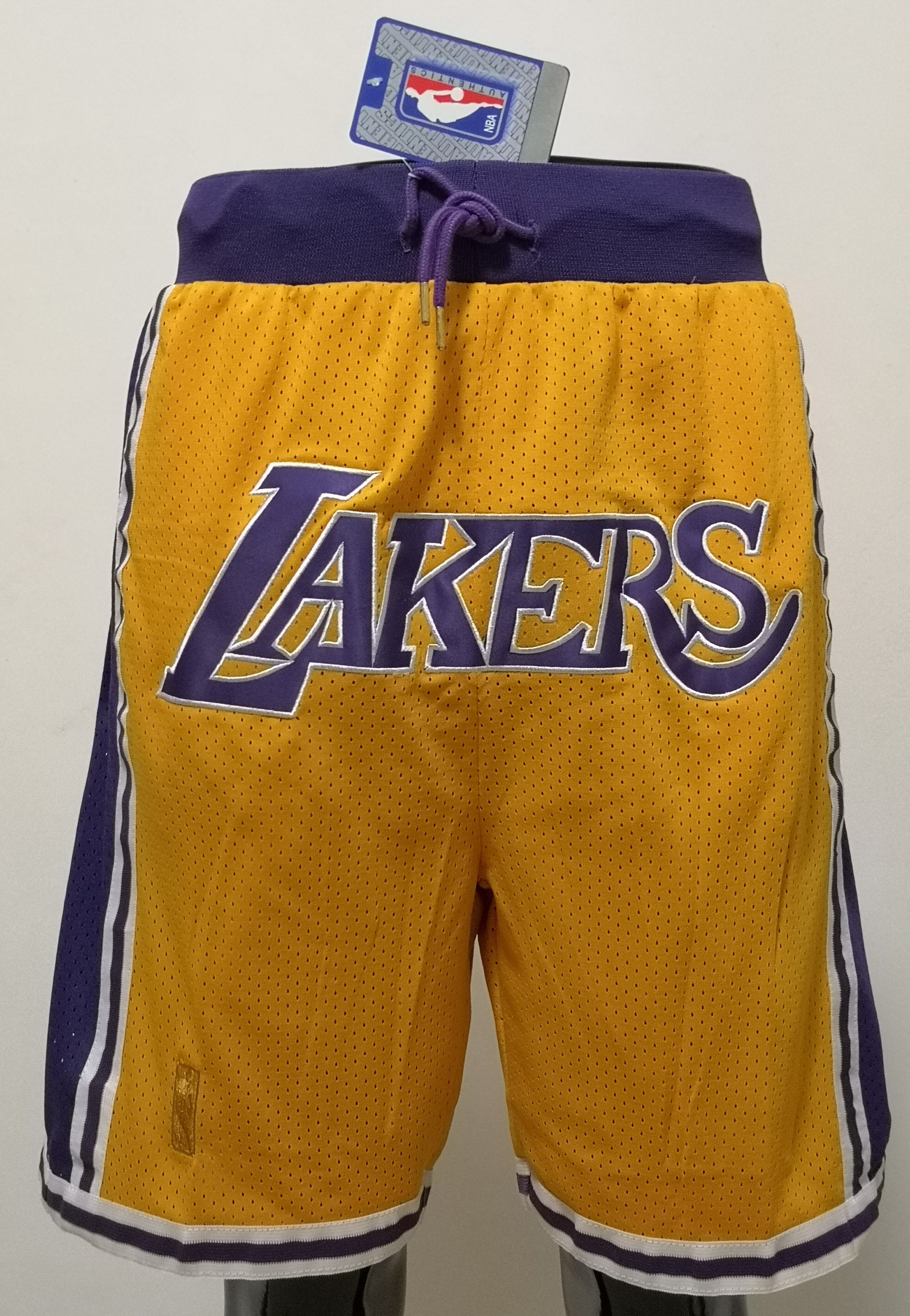 2020 Men NBA Los Angeles Lakers 01 shorts