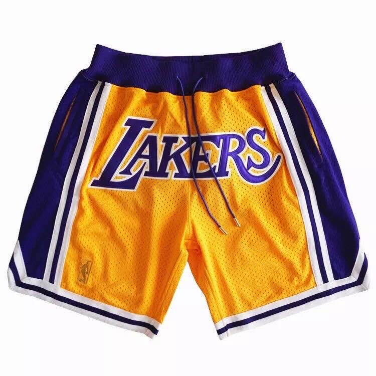 2020 Men NBA Los Angeles Lakers 02 shorts