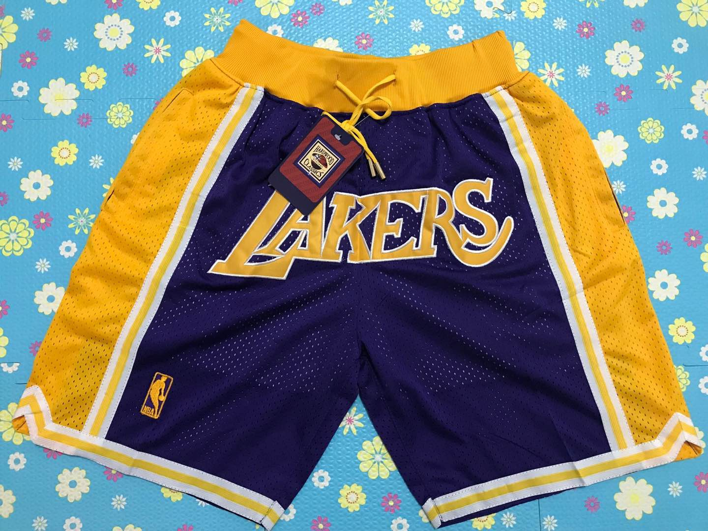 2020 Men NBA Los Angeles Lakers 03 shorts