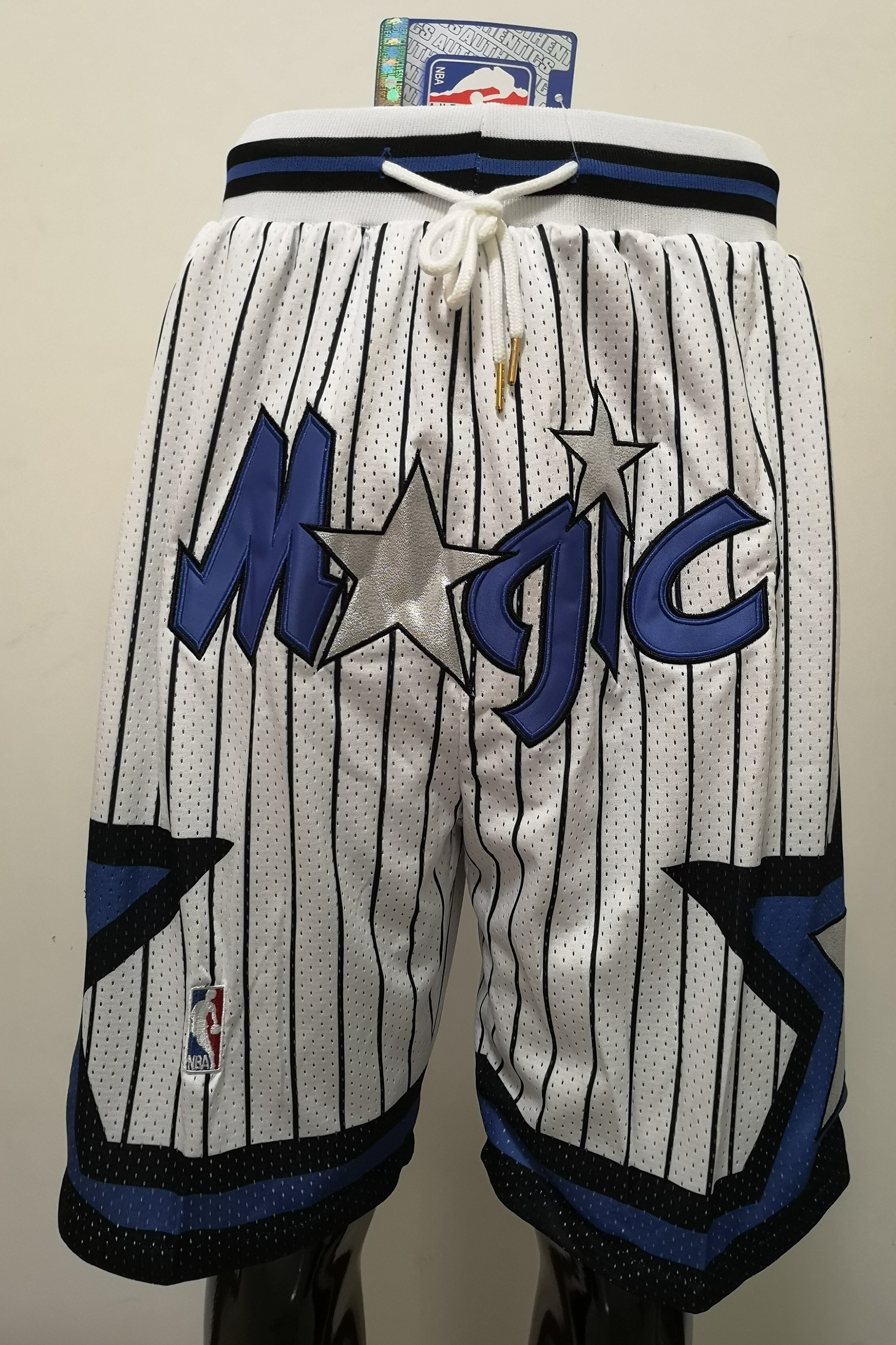2020 Men NBA Orlando Magic white 02 shorts
